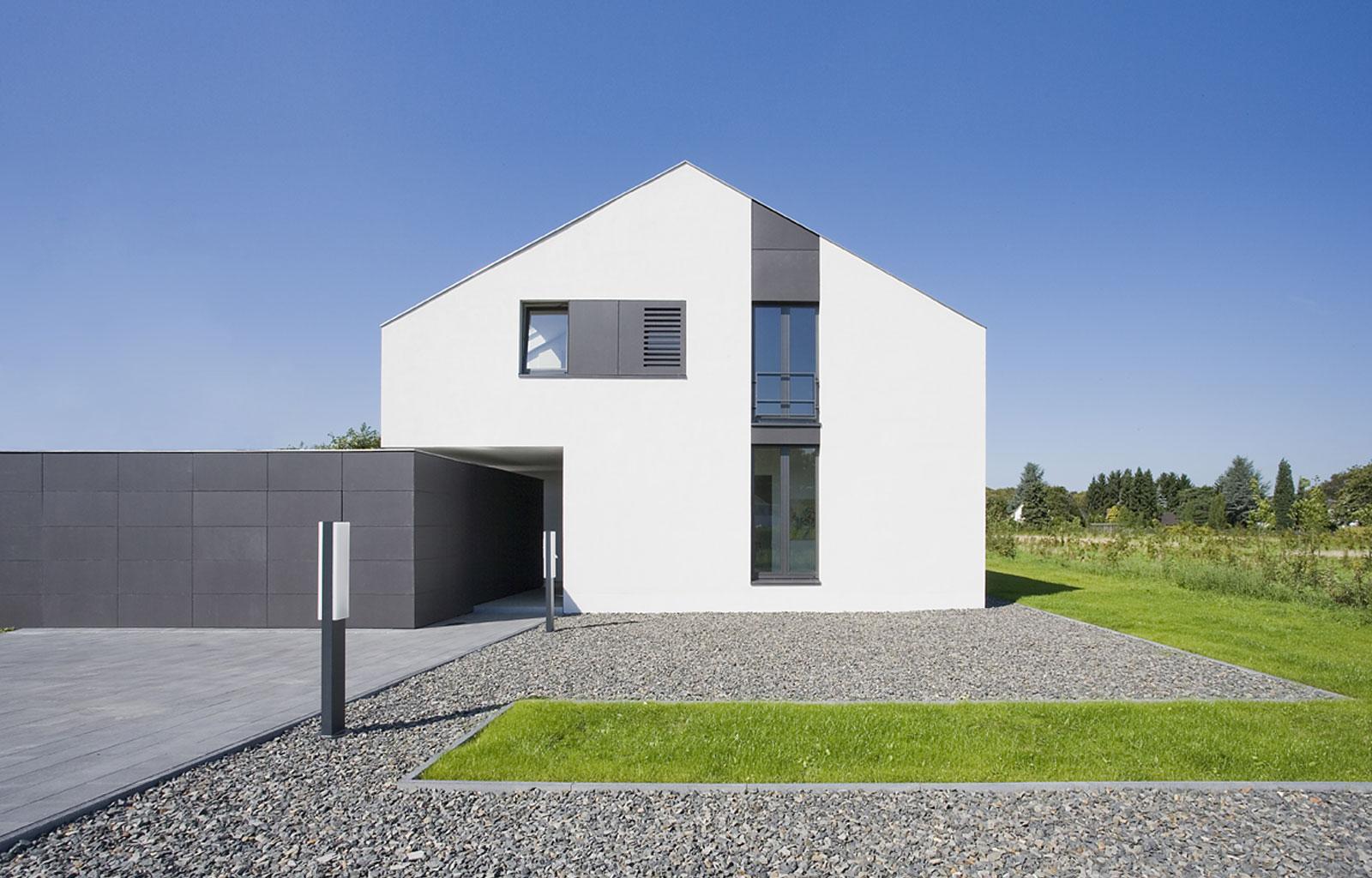 Haus f bergisch gladbach hpa architektur for Haus architektur
