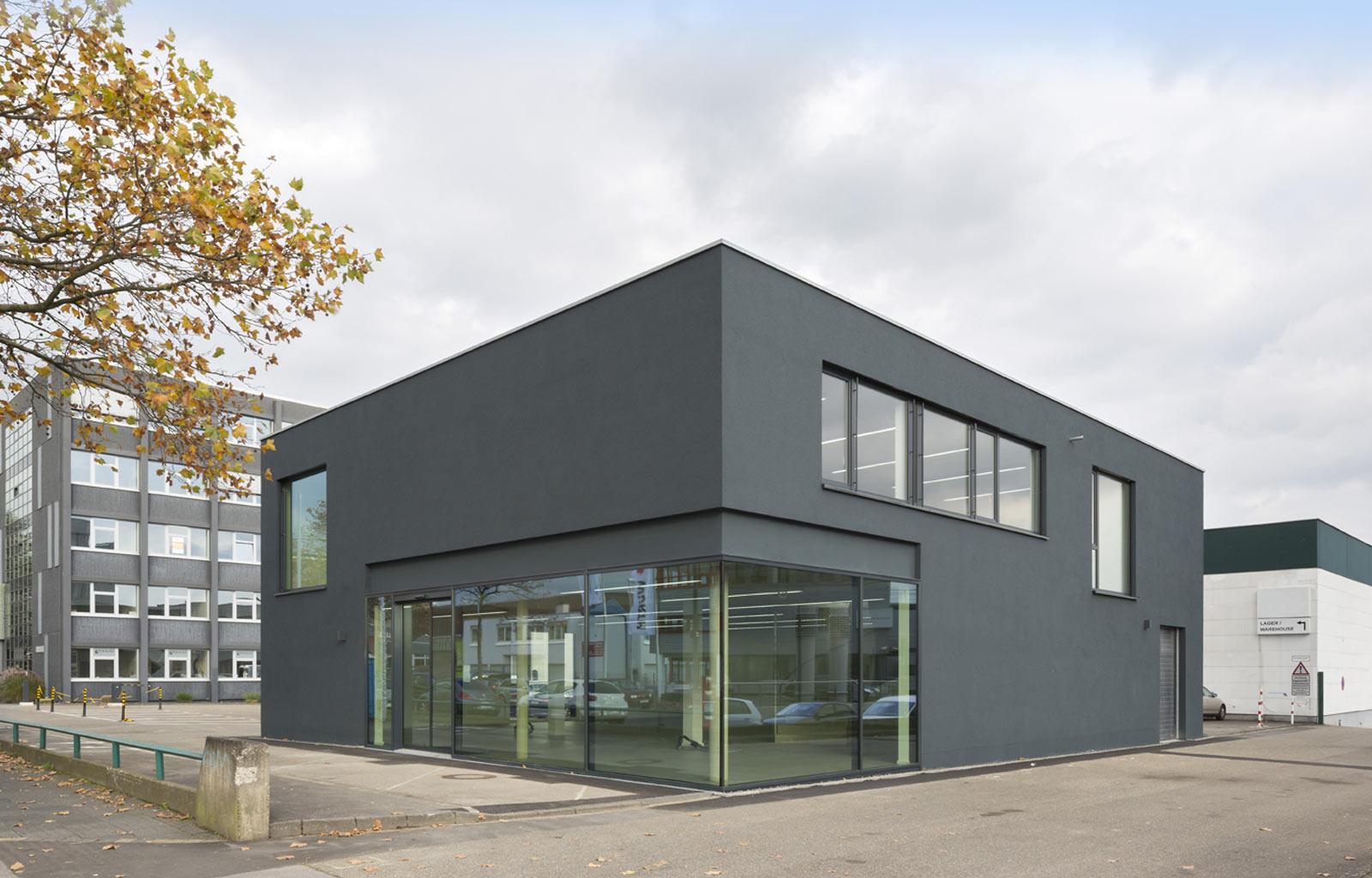 gewerbe hi k ln hpa architektur. Black Bedroom Furniture Sets. Home Design Ideas