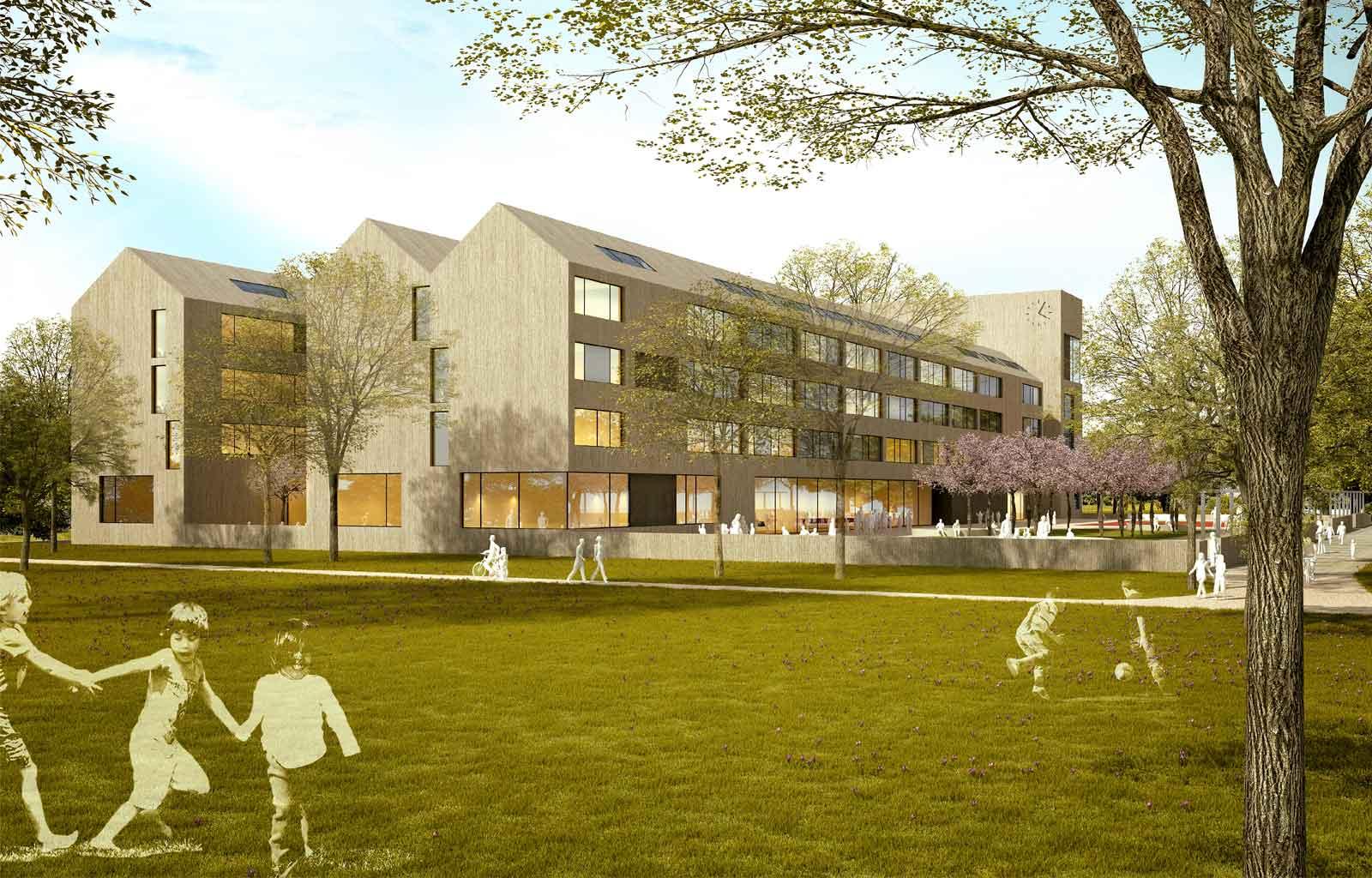 Wettbewerb | Neubau Gesamtschule Nippes Ossietzkystraße in Köln ...